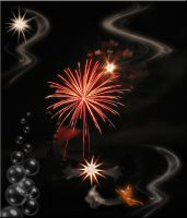 Firework and Fairy Premade by WDWParksGal-Stock