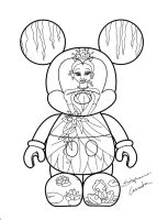 Princess and the Frog Vinylmation Design Lineart by StephanieCassataArt
