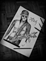 Ashley Purdy by BloodyRose123123