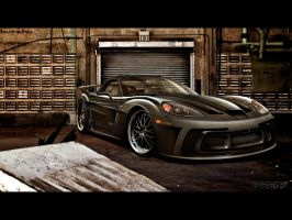 Chevrolet Corvette Z06 by prexi