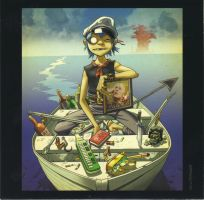 Plastic Beach - 2D by KaktusL8