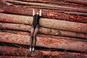 wounded wood by HelloPiccadilly