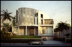 Waves House Front by Neellss
