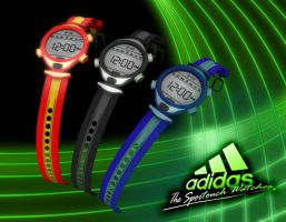 Adidas::The sportouch watches by venomx