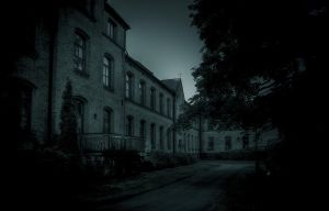 ..night at the asylum... by Espen-Alexander