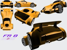 FR 8 Roadster by Mechis