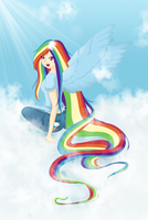 RainBowDash by Baka-lisy