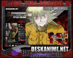 Seras Victoria Tema Windows XP by Danrockster