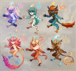 [Auction] Bunch 'o Browbirds [closed] by AgentCorrina