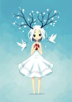 Spring Fairy by freeminds