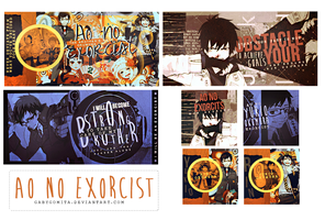 Ao no Exorcist by gabygomita
