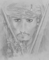 Johnny Depp as Jack Sparrow by TribalSorya