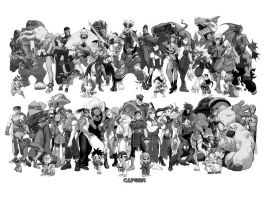 Marvel vs. Capcom... Classic by Kronkimus