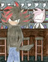 1st Place-Shade the Hedgehog by Caffiene-dono