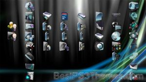 Slick Glass PS3 Theme by jpang1