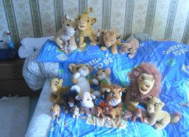 My lion king Plush collection by PinkyPhantom