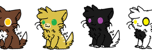 Free Kitty Adoptables! {CLOSED!} by SNlCKERS
