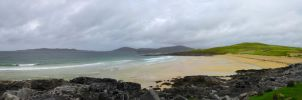 Beach on Harris by RobiSo