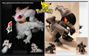 Pokemon Black and White - Reshiram/Zekrom - SOLD