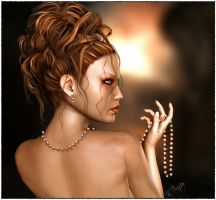 Pearl Necklace by Karaliina