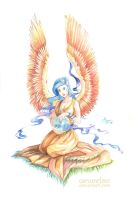 Angel Of Peace by Carcaneloce
