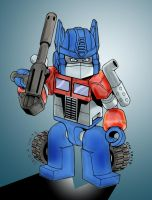 Kre-O: Optimus Prime by Clu-art