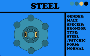 Steel the Bronzor by TheChiefofTime