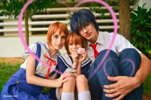 Cosplay Nagisa, Ushio Y Tomoya by Ema2220
