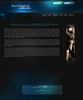 Soul Of Legends Website's by Neo8gfx