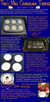 Mini Cheesecake Tutorial Pt.3 by Toki-the-baker