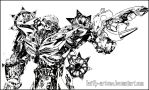 Transformers Bumblebee ~ WIP by Keith-arts02