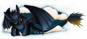 Toothless by Kanizo