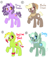 Adoptables by mc10215