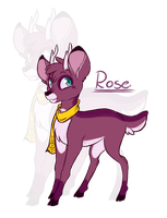 Deer Rose by CrispyCh0colate