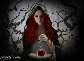 The Red Witch by Kristenolejarnik