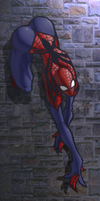 SpiderGirl Color by ShadowMaginis