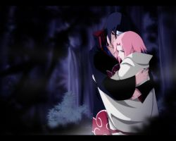 Prize Art: Itachi and Sakura by annria2002