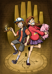 Gravity Falls by AbnormallyNice