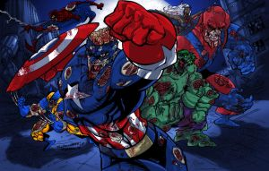 Night of the Undead Avengers by RCarter