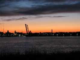 Port Huron from Sarnia by dmjh30