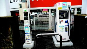 electric vehicle charging station by windixie