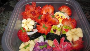 Freestyle bento making by Arachnoid