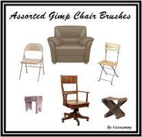 Gimp Assorted Chair Brushes by Geosammy