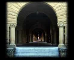Cloisters at Stanford by barefootliam