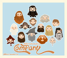 Thorin Oakenshield and Co. by Starsical