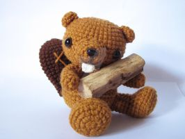 Little Mabelle the Beaver by SNCxCreations