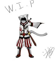 Assassin's Creed  Fan Art W.I.P by FinalFantasyFox