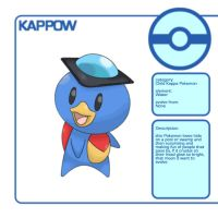 Water Starter Pokemon:Kappow by Cessa