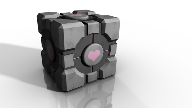 Companion Cube by ani07789