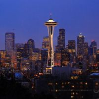Space Needle by porbital